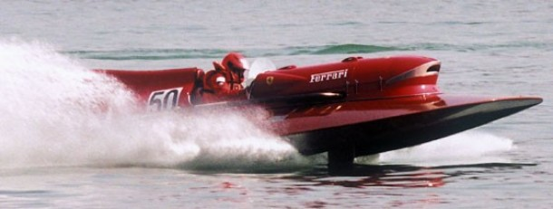 Ferrari Arno XI hydroplane raceboot for sale 2