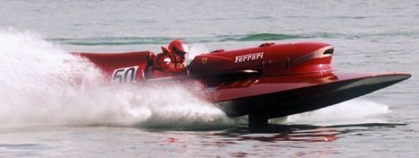 Ferrari Arno XI hydroplane raceboot for sale 2