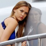 Bar Refaeli shoot in the Bay of Cannes