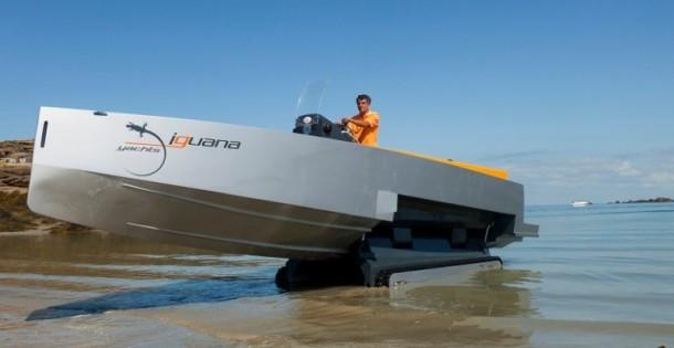 Iguana yachts 29 tender amfibie