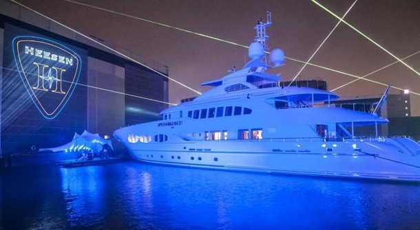 Superjacht van Frans Heesen 47meter Heesen Yachts