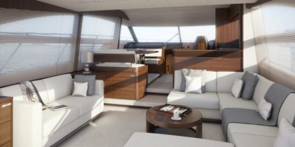 New Princess 56 saloon